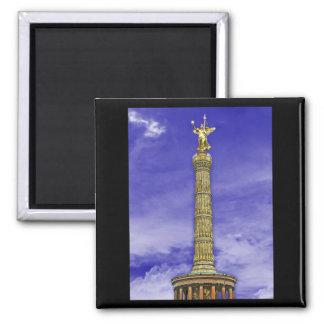 Columna de la victoria siegessaule Berlín ciel Iman De Frigorífico