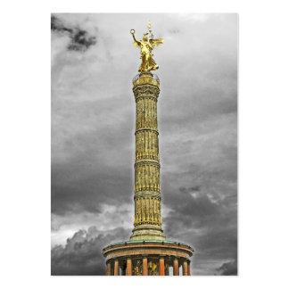 Columna de la victoria (siegessaule), Berlín, Tarjetas De Visita Grandes