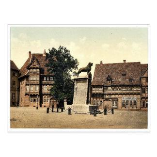 Columna del león, Brunswick (es decir Brunswick), Postal