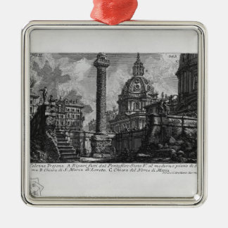 Columna del ` s de Juan Piranesi-Trajan Adornos De Navidad