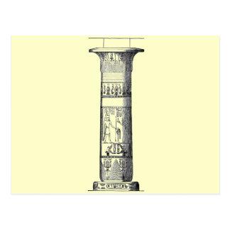 Columna egipcia postales