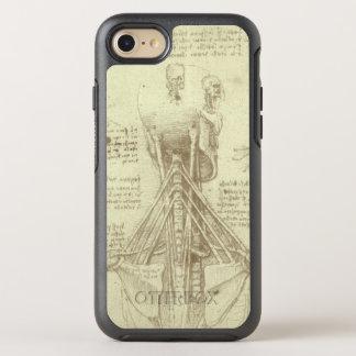 Columna espinal de la anatomía humana de Leonardo Funda OtterBox Symmetry Para iPhone 7