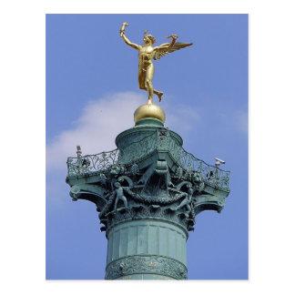 Columna, Place de la Bastill, París Postales
