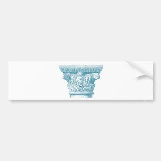 columna romana griega 3 pegatina para auto