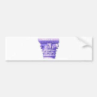 columna romana griega pegatina para auto
