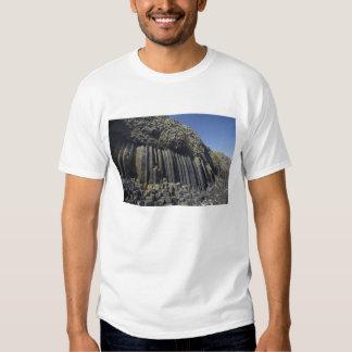 Columnas del basalto por la cueva de Fingal, Poleras