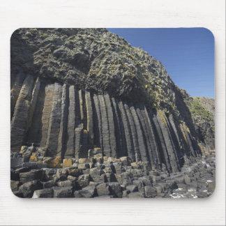 Columnas del basalto por la cueva de Fingal, Staff Alfombrillas De Ratones
