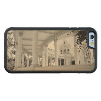 Columnata curvada vintage funda de iPhone 6 bumper arce
