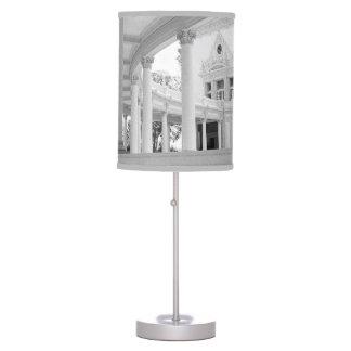 Columnata curvada vintage lámpara de escritorio