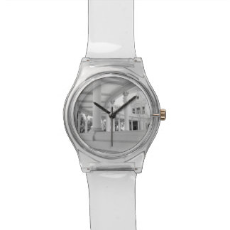 Columnata curvada vintage relojes