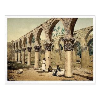 Columnata de la mezquita antigua, Baalbek, Lan Tarjetas Postales