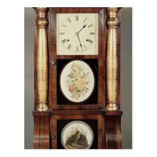 Columned clock, c.1855 postcards