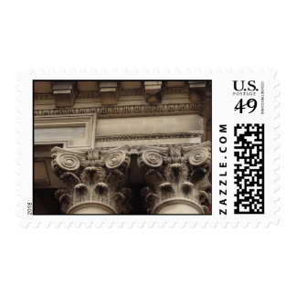 Columns and Moulding Postage Stamp