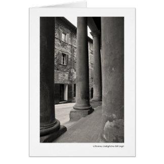 Columns, Castiglione del Lago Card