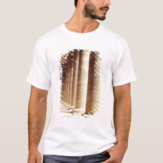 Columns in the Pronaos  of the Temple of Horus T-Shirt