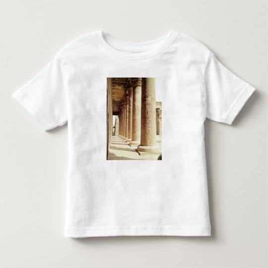 Columns in the Pronaos  of the Temple of Horus Toddler T-shirt