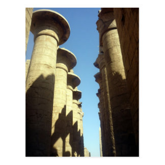 columns karnak postcards