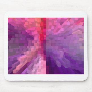 Columns of purple mouse pad