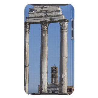 Columns of the Temple of Castor and Pollux with iPod Touch Case-Mate Case