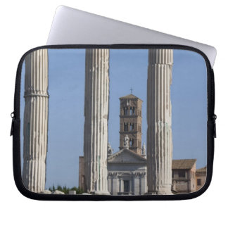 Columns of the Temple of Castor and Pollux with Laptop Sleeve
