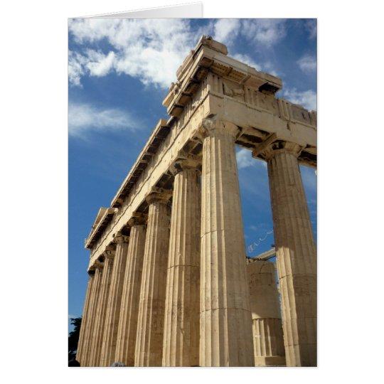 columns parthenon up card