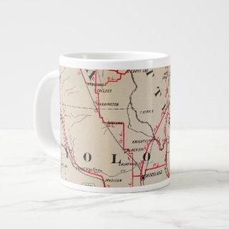 Colusa, Yolo, Napa, Butte, Yuba, Sutter, Solano Large Coffee Mug