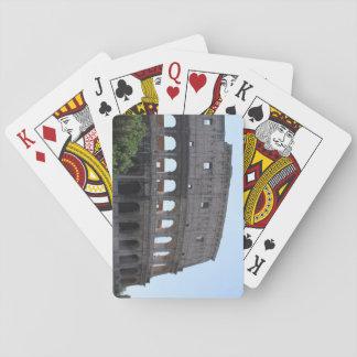 Colusseum, Rome, Italy Poker Deck