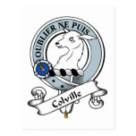 Colville Clan Badge Postcards