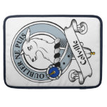 Colville Clan Badge Sleeves For MacBook Pro