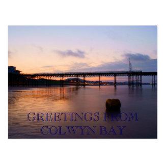 Colwyn Bay Postcard