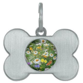 COM Flores del imagem hace el campo Placa Mascota