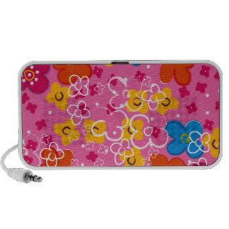 COM Flores del padrão iPhone Altavoces