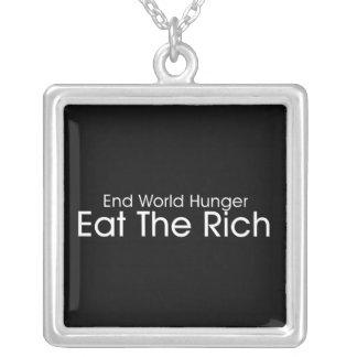 Coma a los ricos grímpola