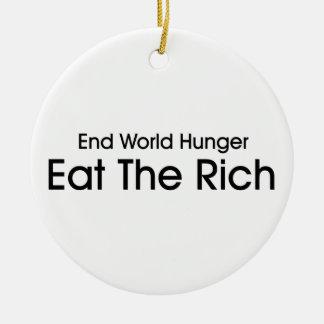 Coma a los ricos ornamentos para reyes magos