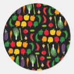 Coma a su pegatina de la Multi-Verdura de los