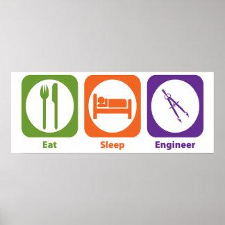 Coma al ingeniero del sueño posters