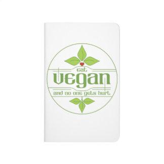 Coma al vegano y nadie consigue daño cuadernos