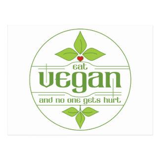 Coma al vegano y nadie consigue daño postal