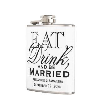 Coma, beba, y sea boda de encargo casado