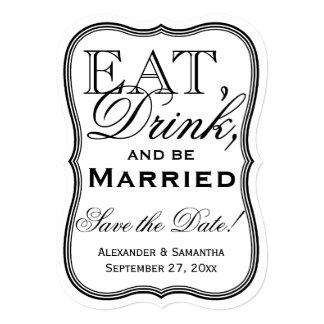 Coma, beba, y sea reserva casada que la fecha comunicados personales