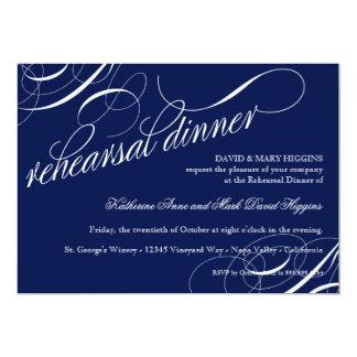 Coma, bebida consiguen la cena casada del ensayo invitacion personalizada