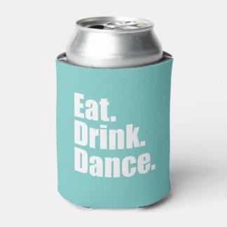 Coma. Bebida. Danza. el   que se casa Enfriador De Latas