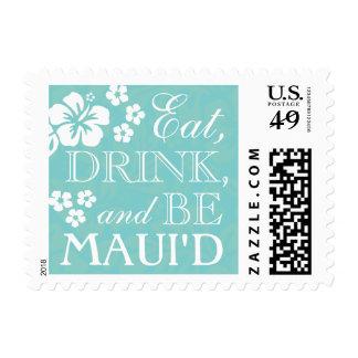 Coma, bebida sea sellos hawaianos del boda de
