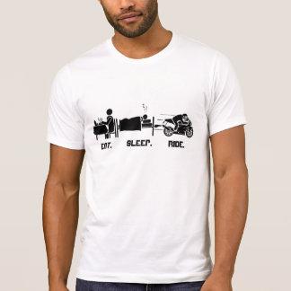 Coma. Camiseta de Sleep.Ride