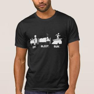 Coma. Camiseta de Sleep.Surf Playeras