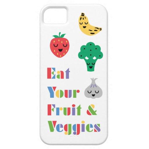 Coma caso de su iPhone 5 de la fruta y de los Vegg iPhone 5 Carcasa