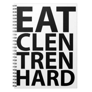 Coma Clen Tren Hard png Libro De Apuntes