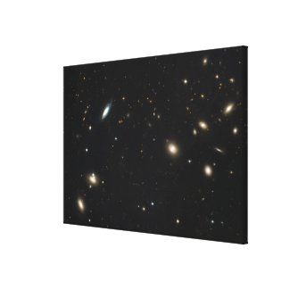 Coma Cluster of galaxies Canvas Print