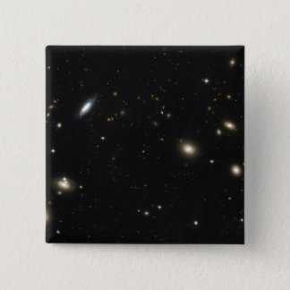 Coma Cluster of galaxies Pinback Button