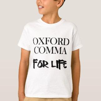 Coma de Oxford para la vida Playera